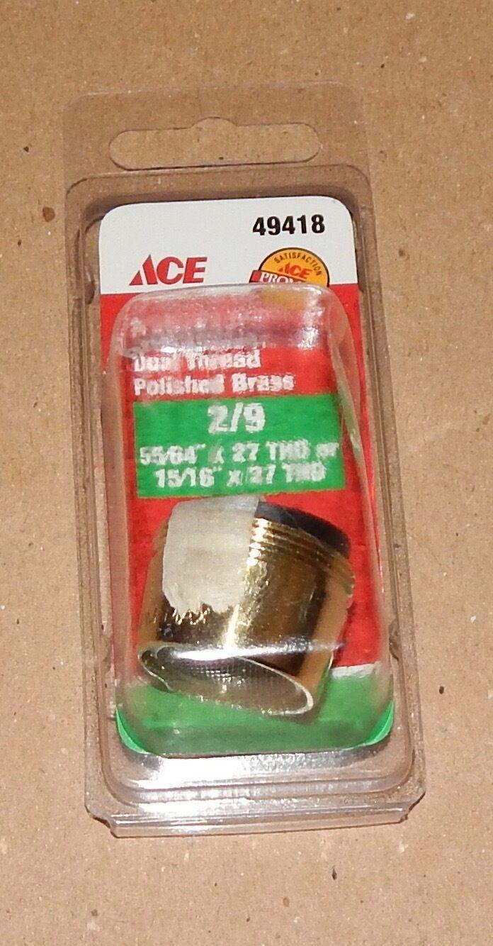 ACE Hardware Aerator Dual Thread Brass 55/64\