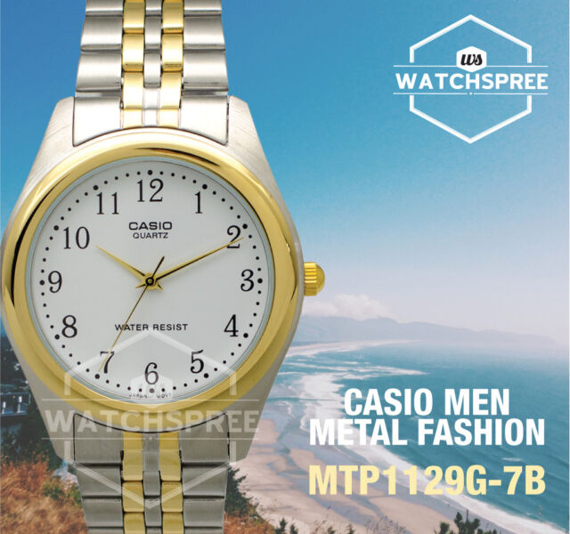 Casio Men's Standard Analog Watch MTP1129G-7B