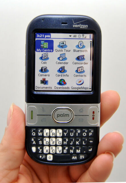 palm centro verizon wireless pda cell phone dark blue rh ebay com Palm Centro Freeware Palm Centro Ad