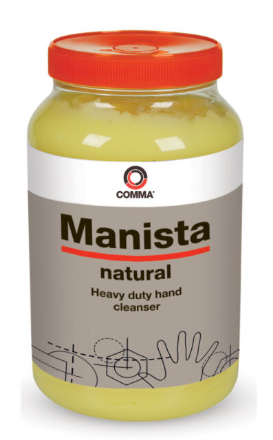 Manista 3L Natural Hand Cleanser with Polychips MAN3L