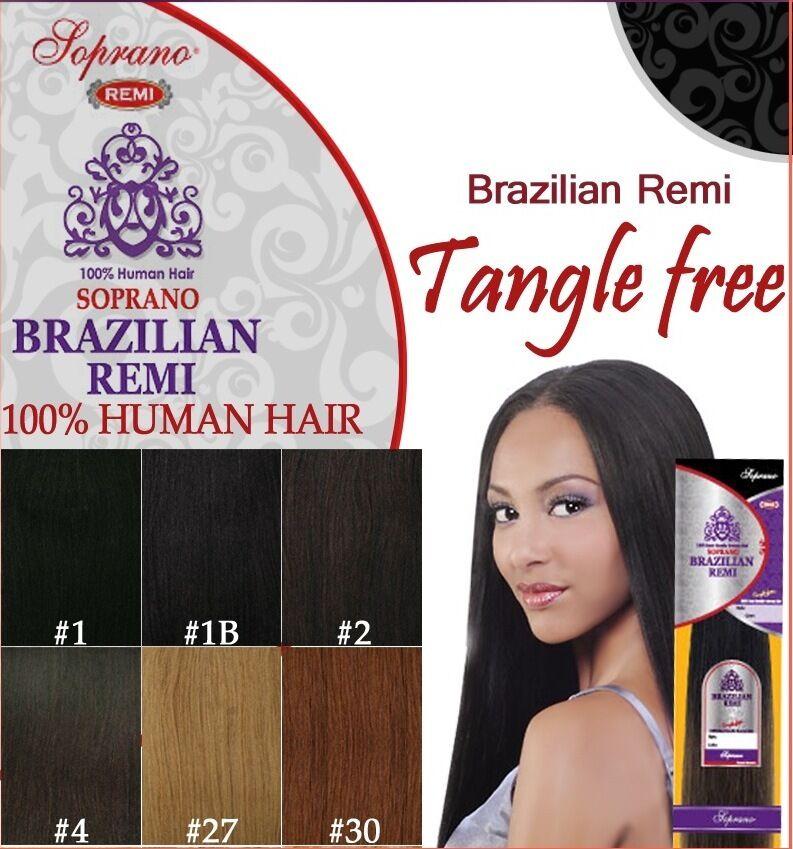 Soprano Brazilian Remi Yaki 18 100 Human Weaving Hair 1b Off Black