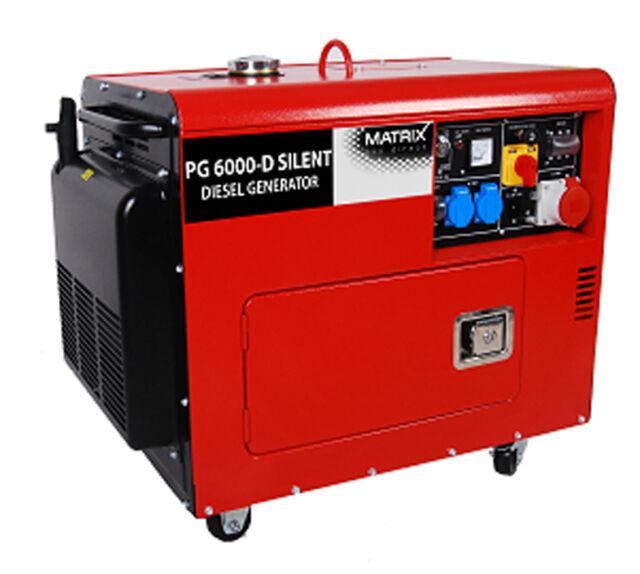 Stromgenerator PG 6000 D Silent   eBay