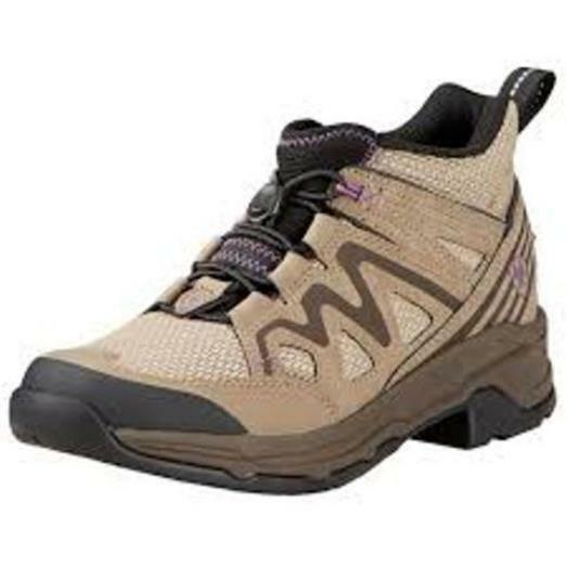 Ariat Women's Maxtrak UL Bungee Lace Trail Shoe 5.5 B Taupe Leather/mesh |  eBay