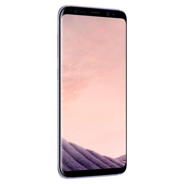 SMARTPHONE SAMSUNG Galaxy S8 64GB G950 Orchid Gris NEUF GARANTIE ITALIE TIM