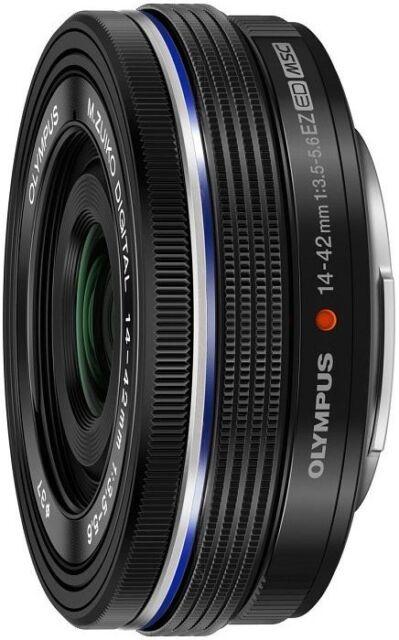 Olympus Objektiv M.Zuiko digital ED 14-42mm 3.5-5.6 EZ schwarz - BULKWARE - NEU!