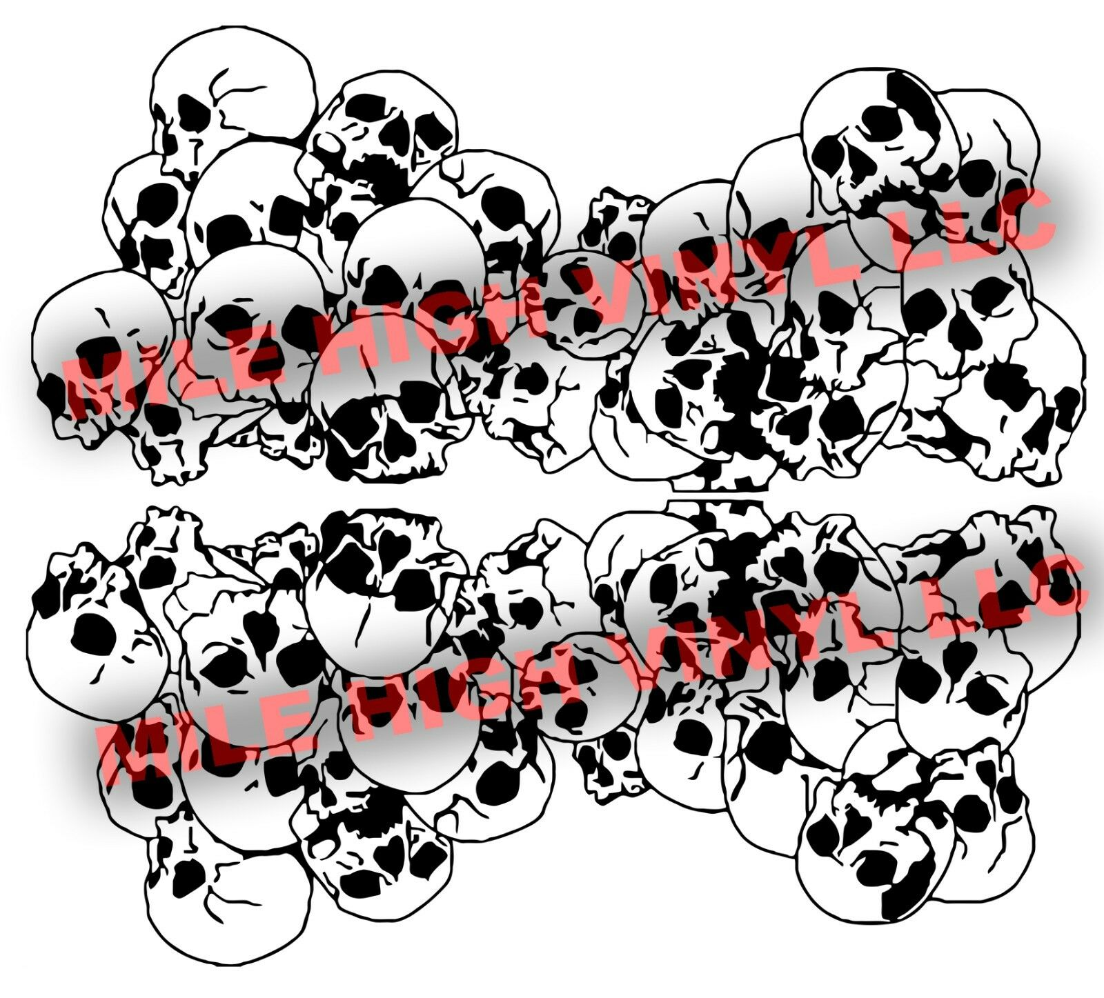 Cerakote duracoat skulls stencil vinyl high heat paint camouflage picture 1 of 2 amipublicfo Choice Image