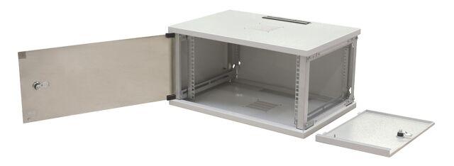 "19"" Wandgehäuse 6HE 600x400 Serverschrank Netzwerkschrank Schrank Rack"