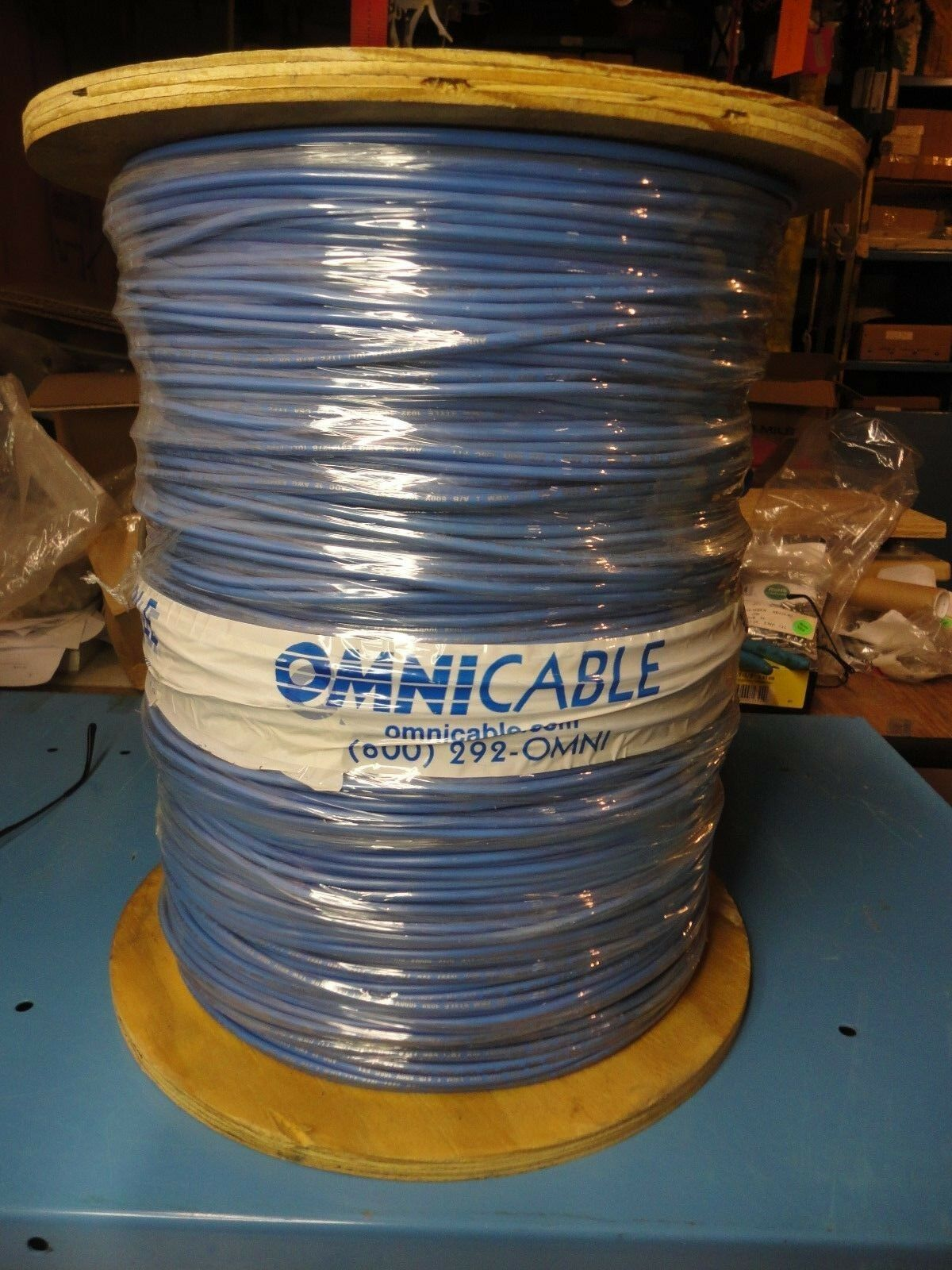 2500 FT Coil Omni Cable L712st-05 Tinned Copper Hookup Wire 12 AWG ...
