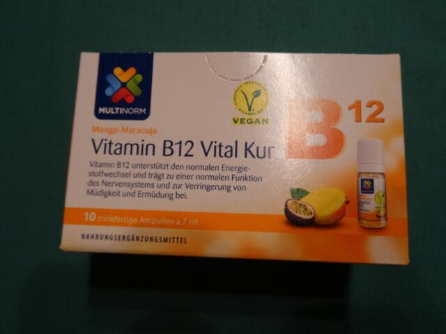 5 x multinorm vitamin b12 vital kur mango maracuja ebay. Black Bedroom Furniture Sets. Home Design Ideas