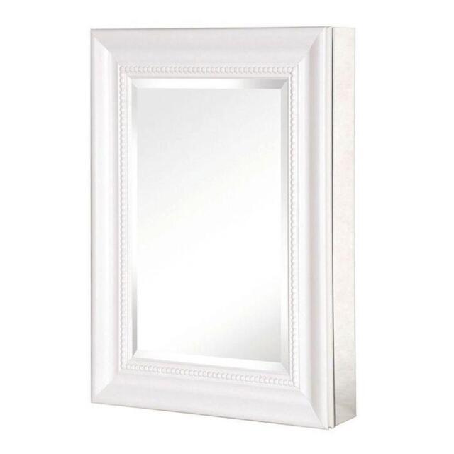 Pegasus SP4597 15 Mount Mirrored Medicine Cabinet W/ Deco Framed ...