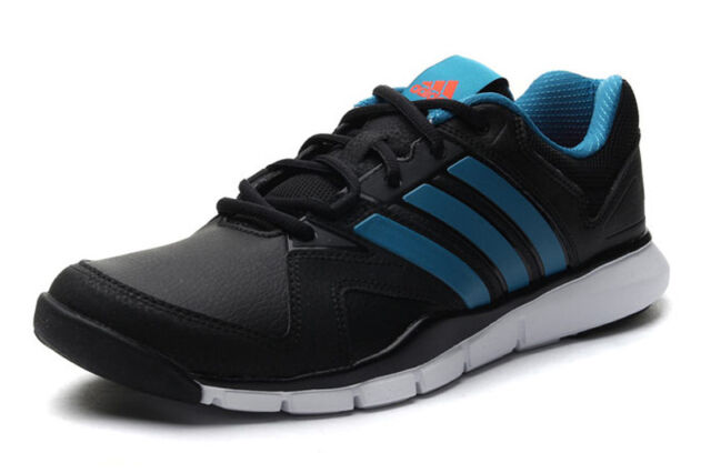 NEW ADIDAS A.T. AT 180 Cross Training MENS 11 Black Leather NWT