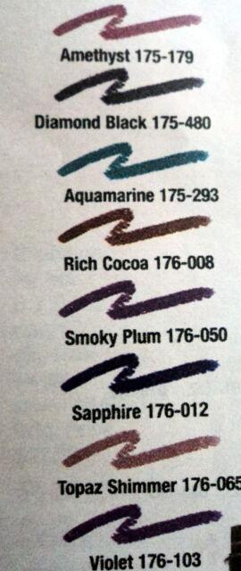 avon extralasting eyeshadow crayon aquamarine factory ship ebay