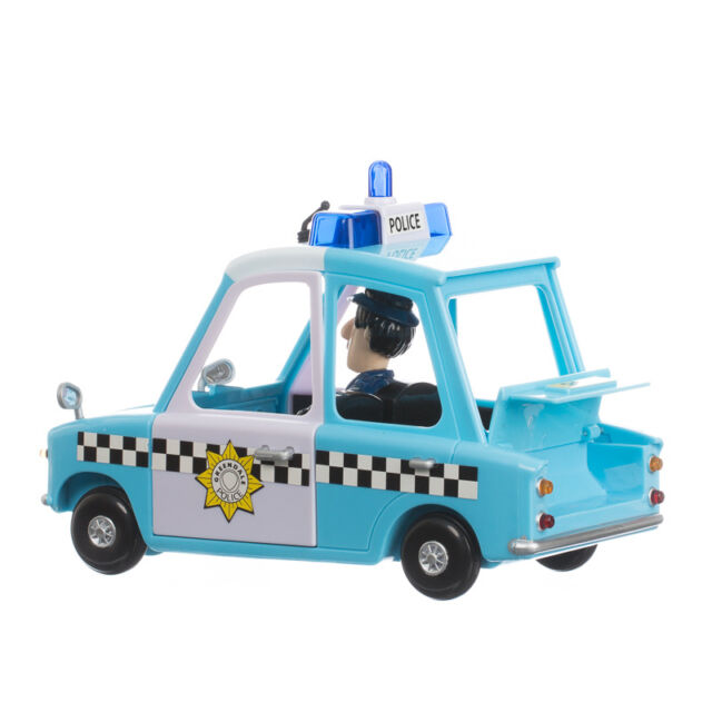 Postman Pat Friction Police Car Articulated Pc Selby Figure Age 3