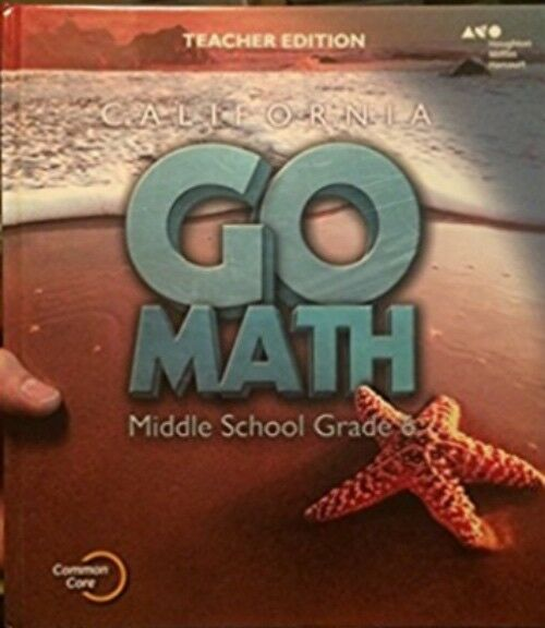 California go math middle school grade 6 teacher edition hmh cbk72 grade 6 california go math middle school teacher edition 6th fandeluxe Gallery