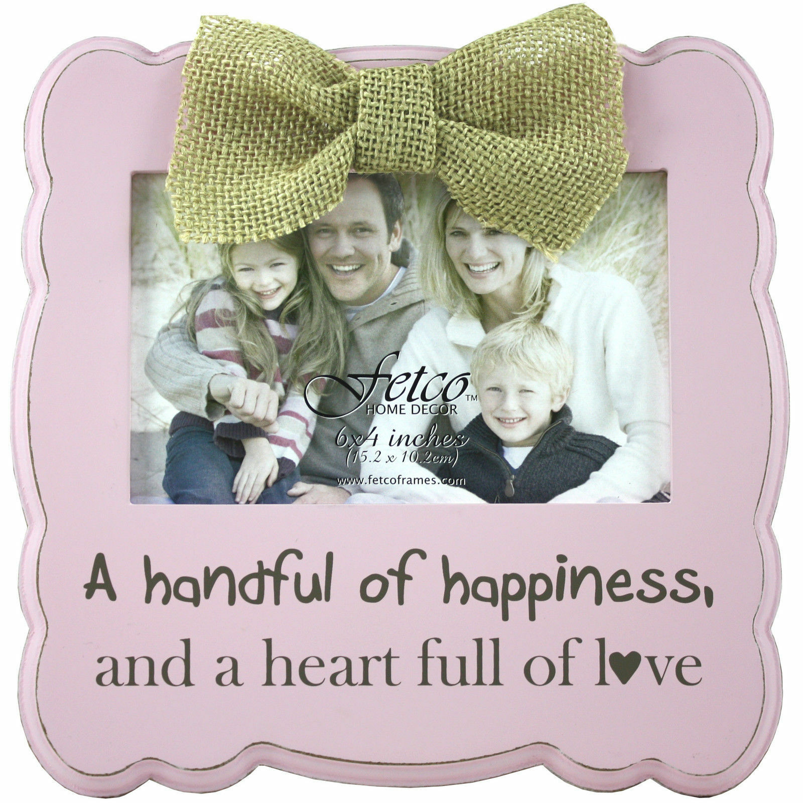 FETCO Home Decor Gaia Handful of Happiness Picture Frame | eBay