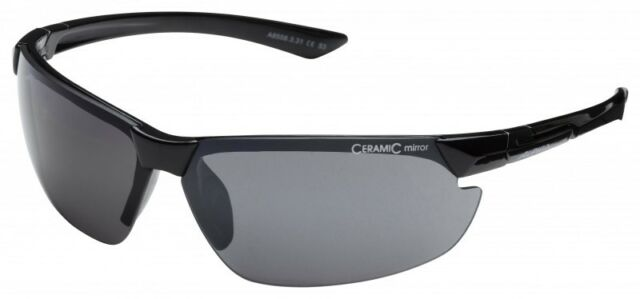 Alpina Draff Sport Sonnenbrille 100% UVA/UVB/UVC Schutz Schwarz Neu