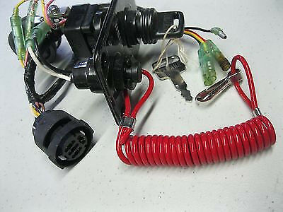 s l640 yamaha outboard single engine switch panel 704 82570 12 00 ebay  at fashall.co