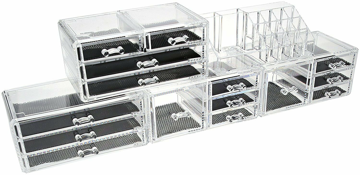 Design Cosmetic Organizer unique cosmetic storage makeup organizer set home bath acrylic picture 1 of 2