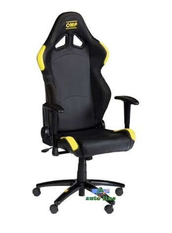 Sedia Ufficio OMP Chair Nera gialla Ha/777e | eBay