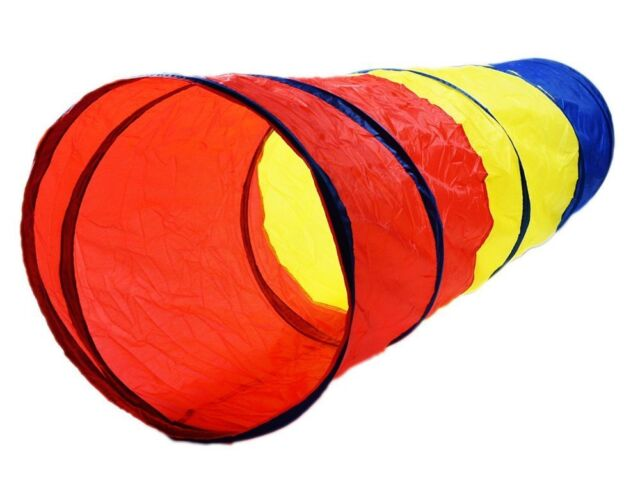 Play Tunnel Tent Child Tube Kids Toy Pop Up 6 Feet Fun Playtent Tents Tunnels  sc 1 st  eBay & 6-feet Play Tunnel Toy Tent Child Kids Pop up Discovery Tube ...