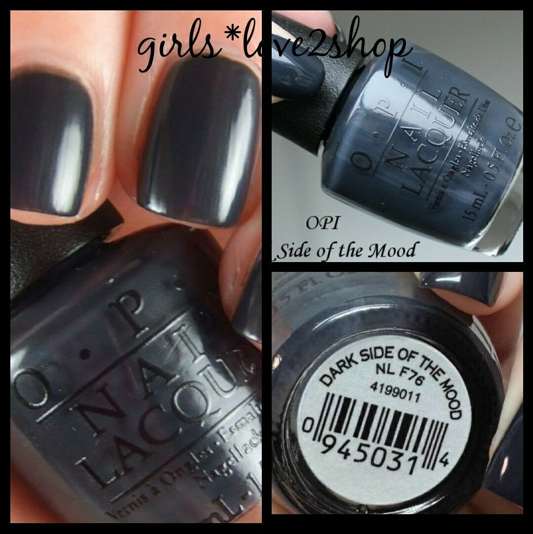 OPI Nail Lacquers 15ml Part 1 F76 Dark Side of The Mood | eBay