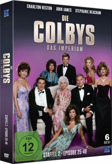 DVD-Box *Die Colbys-Das Imperium (Staffel 2 - Episode 25-49)*NEU OVP(6 Disc Set)