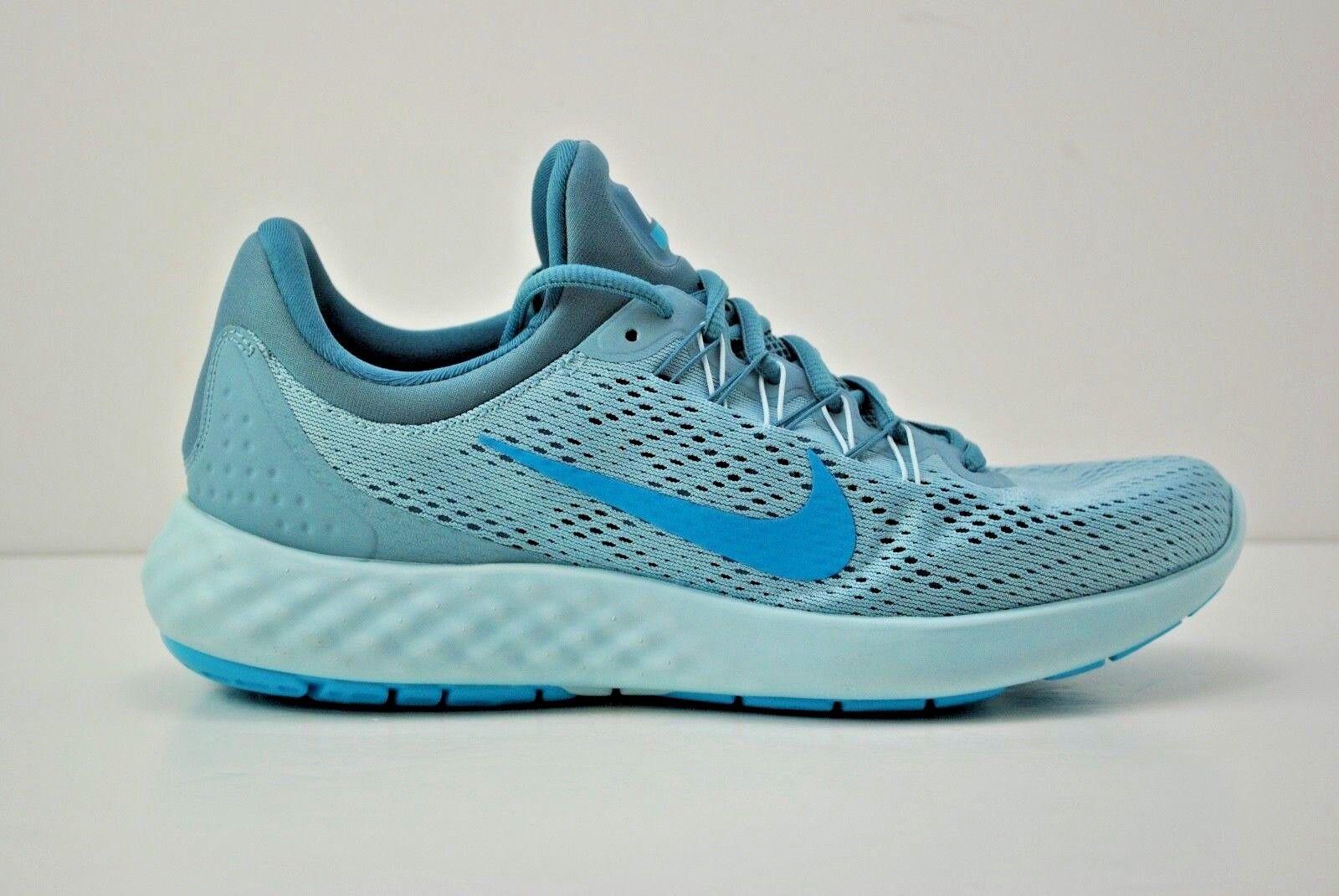 Mens Nike Lunar Skyelux Running Shoes Size 8.5 - 14 Mica Blue Grey 855808 405