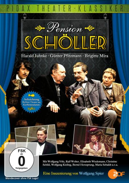 Pension Schöller - DVD Komödie Theater Wolfgang Spier Pidax Harald Juhnke Neu