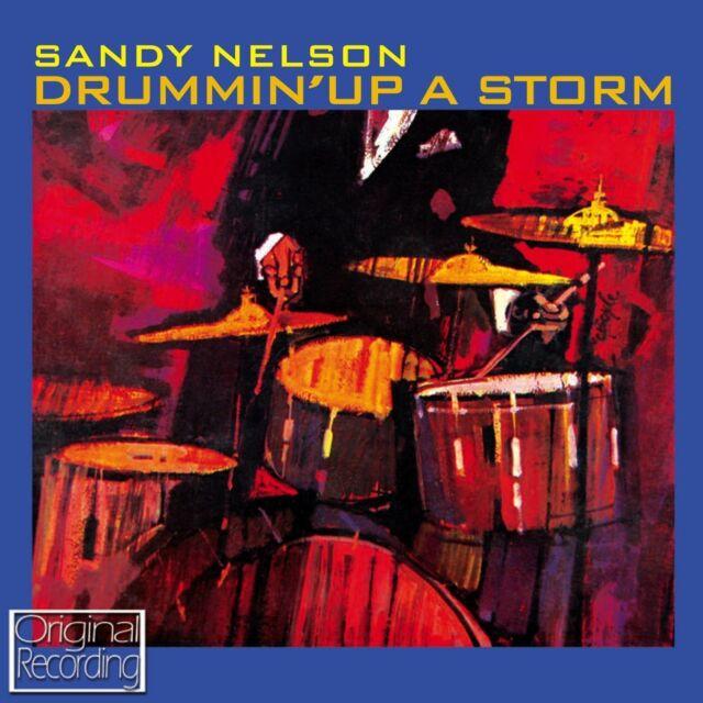 SANDY NELSON DRUMMIN UP A STORM NEW CD INSTRUMENTAL ROCK N ROLL
