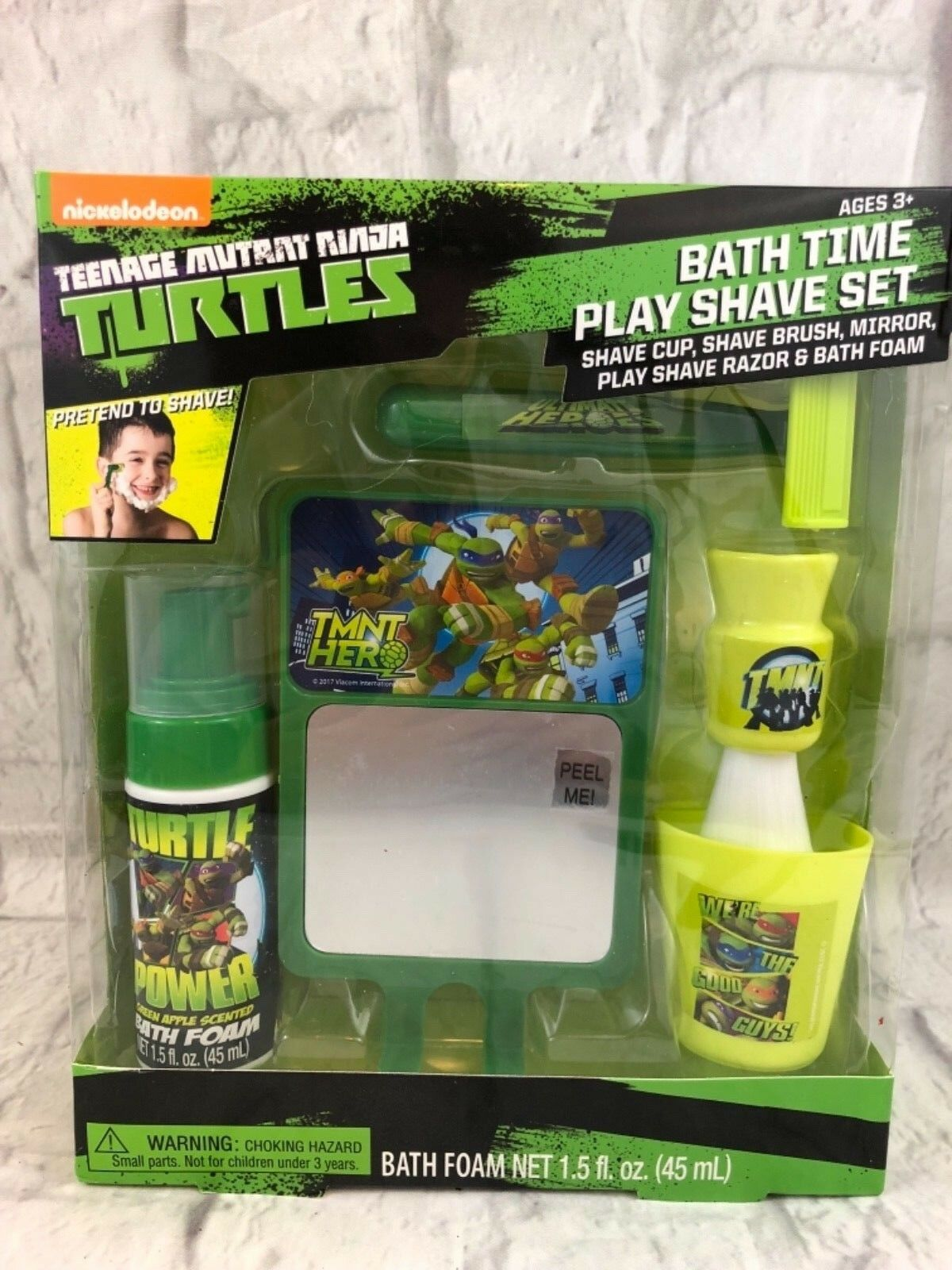 Gbg Beauty 5pc Set Age Mutant Ninja Turtles Bath Foam Play Shave Tmnt Ebay