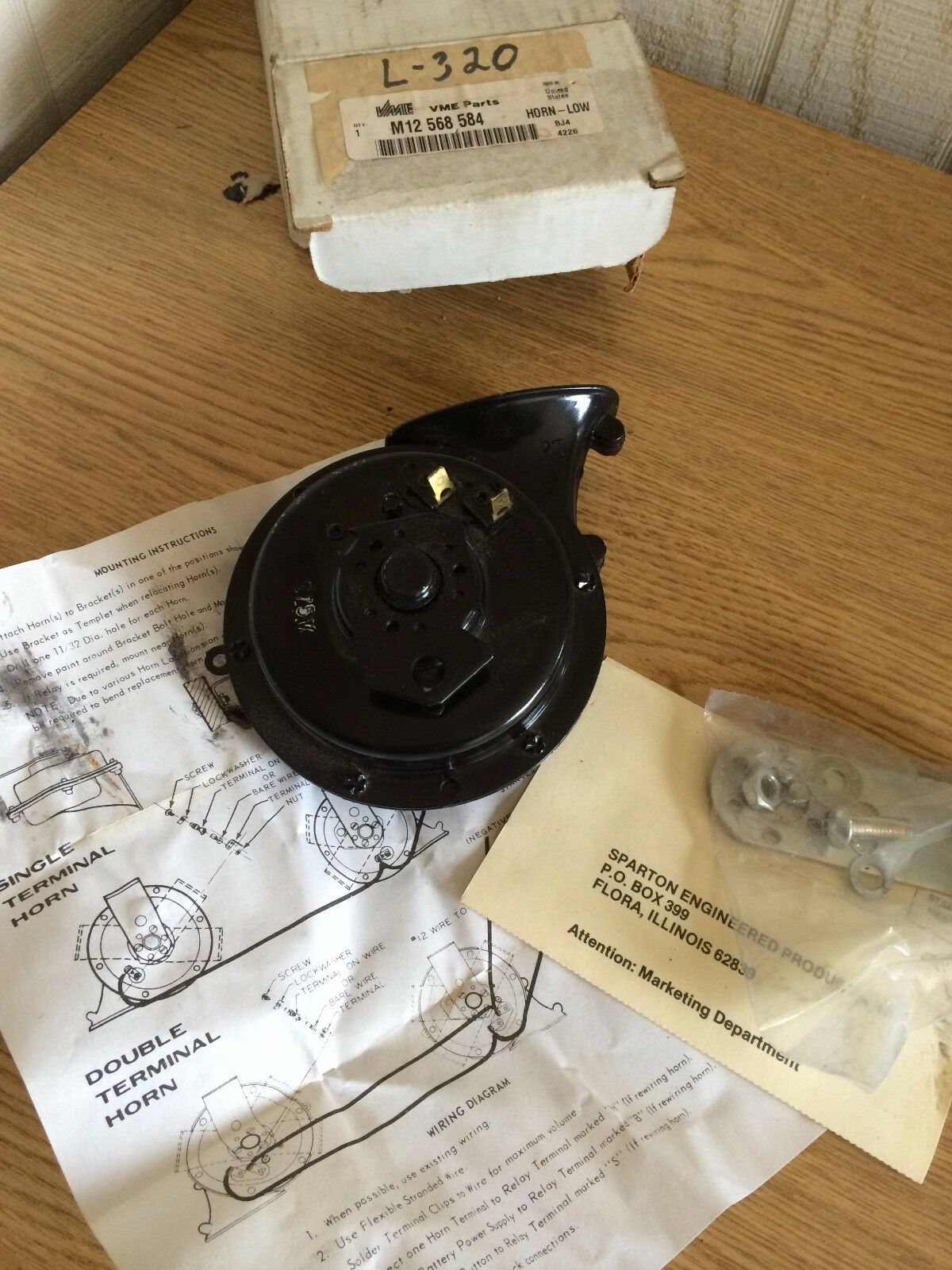 Vme Volvo Horn Kit With Bracket 12568584 Or M12 568 584 Sparton Lo Ih Wiring Diagram New Other Lowest Price