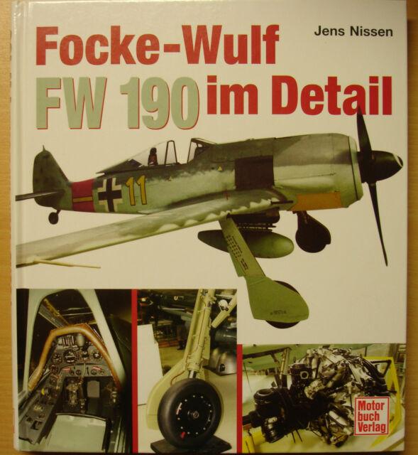 Focke-Wulf 190 im Detail Bemalung Alterung Militär-Flugzeuge Typen Modelle Buch