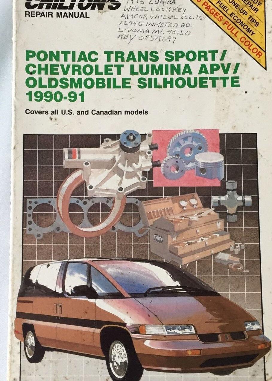 total car care chevrolet lumina pontiac transport olds rh ebay com 1993 Chevy Lumina APV Van Chevy Lumina Van