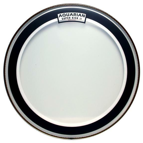 aquarian drumheads skii22 super kick ii double ply 22 inch bass drum head ebay. Black Bedroom Furniture Sets. Home Design Ideas