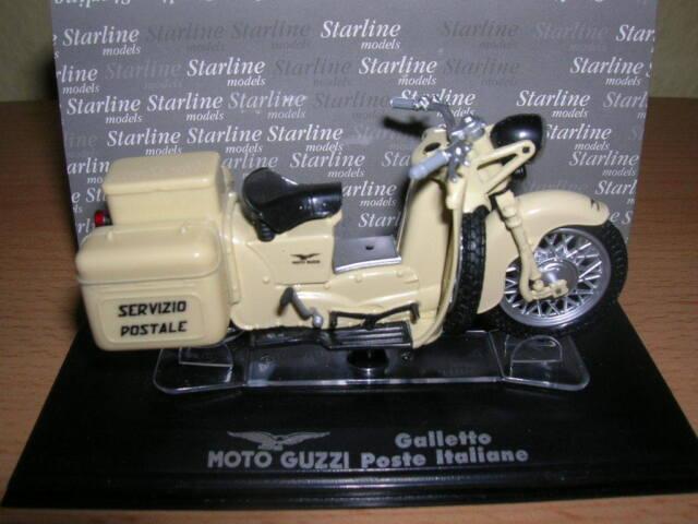 Starline Moto Guzzi Galletto Poste Italiane Post Italien 1:24 Motorrad Neu + OVP
