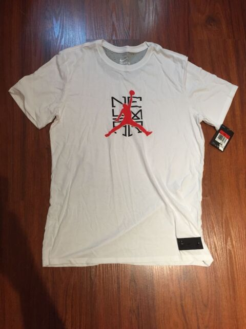 Nike Air Jordan Neymar Limited Collection White Mens T-Shirt 805705-100 Size  M-L