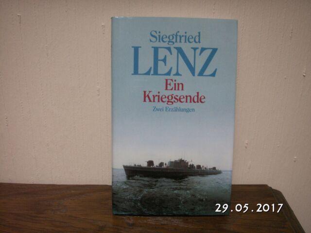 SIEGFRIED LENZ - EIN KRIEGSENDE - Zwei Erzählungen neuwertig