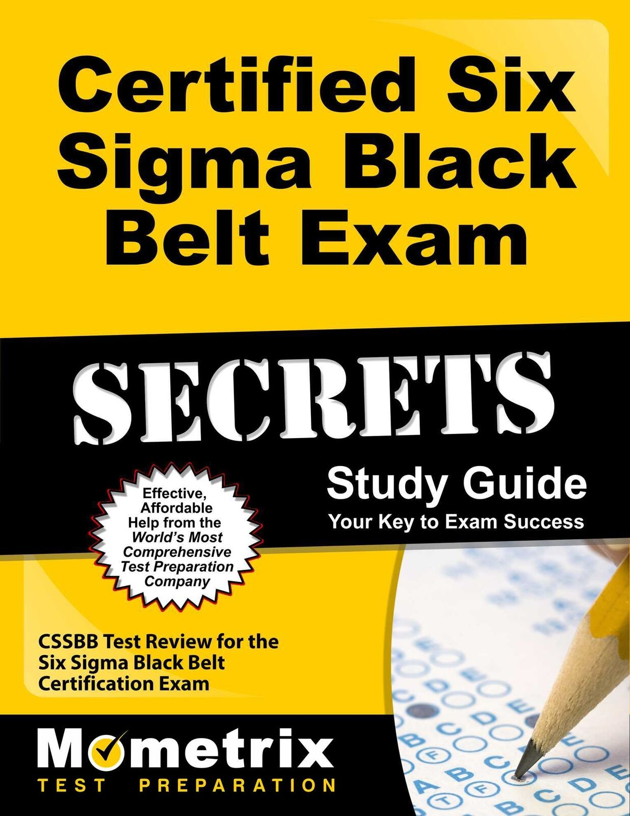 Certified six sigma black belt exam secrets study guide cssbb picture 1 of 1 1betcityfo Image collections
