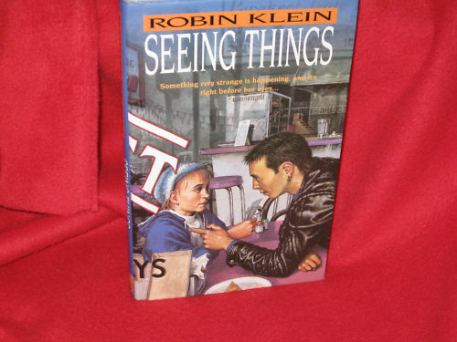 "SEEING THINGS ~ Robin Klein ""Something very strange ..."" 1st HbDj   in MELB"