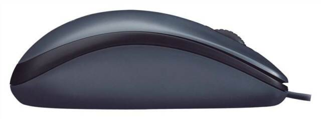 Logitech M90 optical corded USB mouse black Logitech Mouse M90 gives you just th