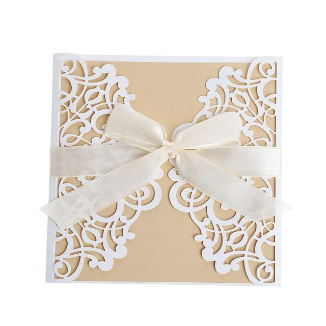 10pcs wedding invitation card kit with envelopes seals personalized picture 13 of 13 stopboris Images