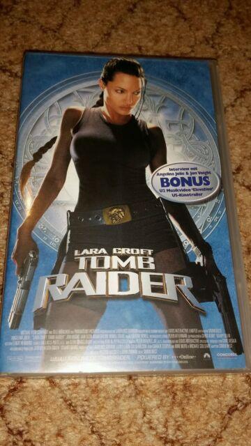 VHS-Kassette Film - Tomb Raider *Top*