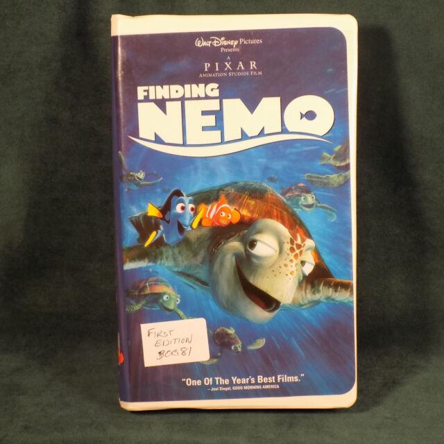 Finding Nemo (VHS, 2003) | eBay