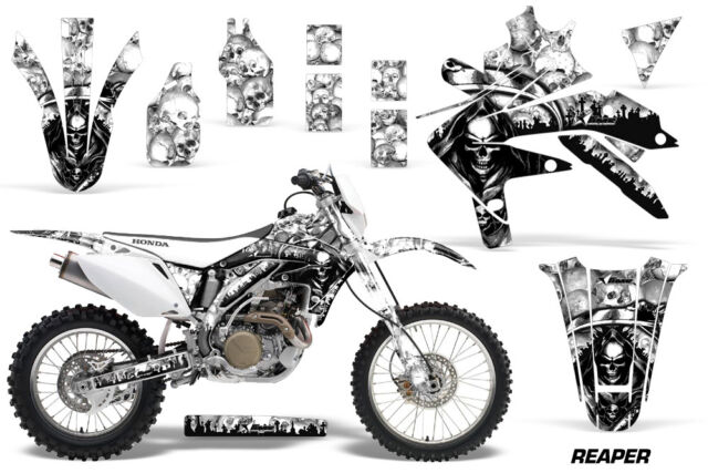 AMR Racing Honda Crfx Graphic Kit Dirt Bike Decals MX Sticker - Decal graphics for dirt bikes