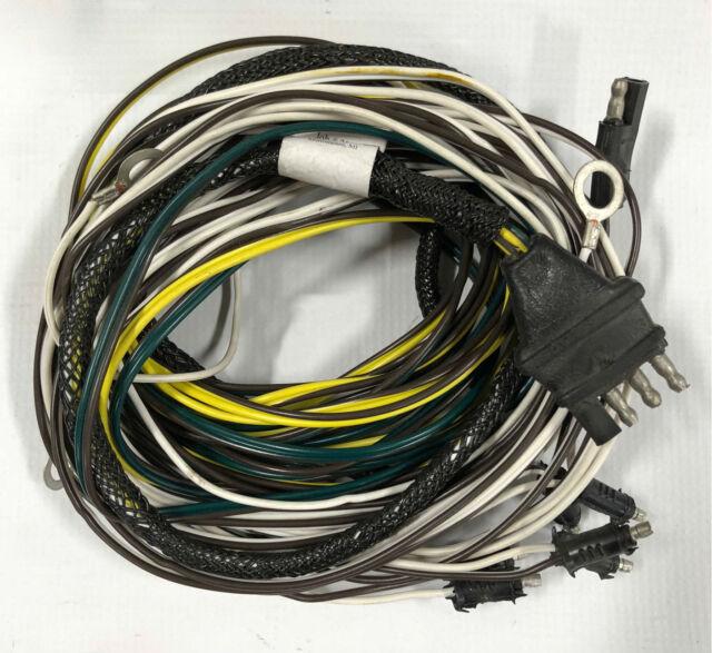 triton 07051 xtv trailer wire harness ebay rh ebay com 4 Prong Trailer Wiring Diagram 7-Way Trailer Plug Wiring Diagram