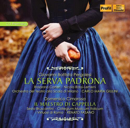 D. Cimarosa / Romero - La Serva Padrona - Cimarosa: Il Maestro Di [New CD]