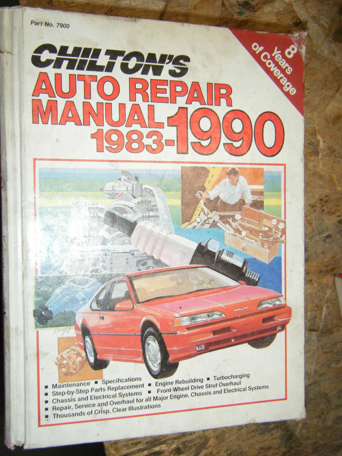 Chrysler magazine user manuals array 1990 chilton u0027s auto repair manual amc dodge chevy ford chrysler rh ebay com fandeluxe Gallery