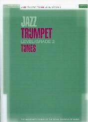 JAZZ TRUMPET TUNES Grade 2 Book & CD ABRSM
