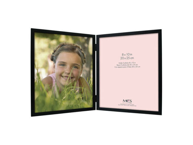 mcs willow wood double vertical picture frame for 8x10 - Double 8x10 Frame