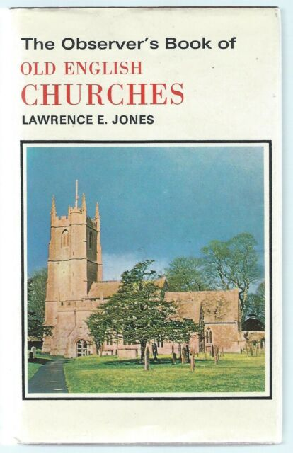 The Observer's Book Of Old English Churches 1969 Revised Edition Good Condition